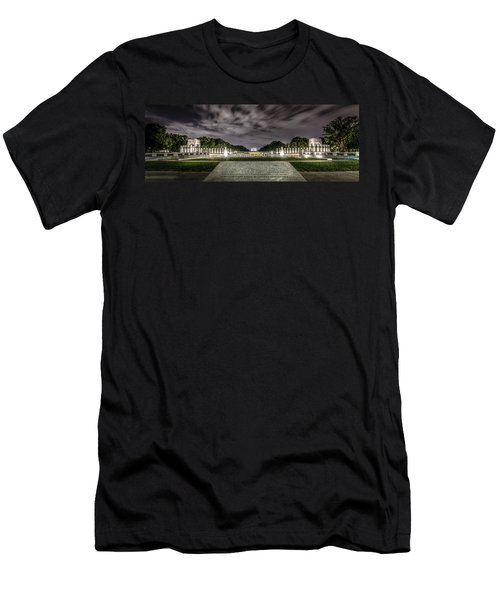World War II Memorial Men's T-Shirt (Slim Fit) by David Morefield