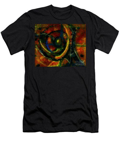 Worship In Movement Men's T-Shirt (Slim Fit) by Leanne Seymour
