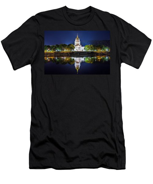 Wv Capitol Men's T-Shirt (Athletic Fit)