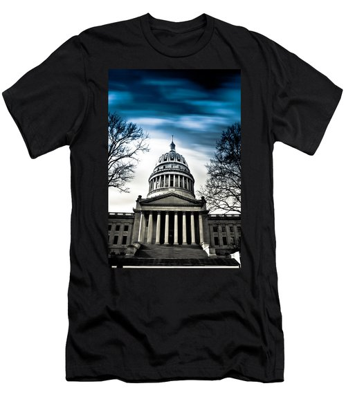 Wv State Capitol Building Men's T-Shirt (Athletic Fit)