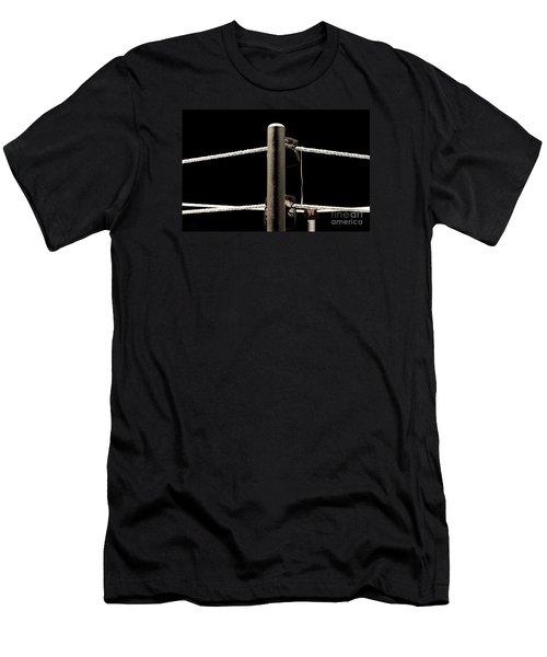 Wwe Ringside Men's T-Shirt (Slim Fit) by Paul  Wilford