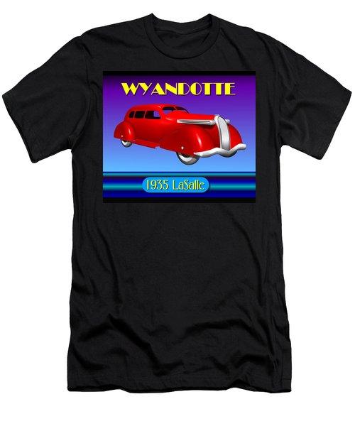 Wyandotte 1935 Lasalle Men's T-Shirt (Slim Fit) by Stuart Swartz