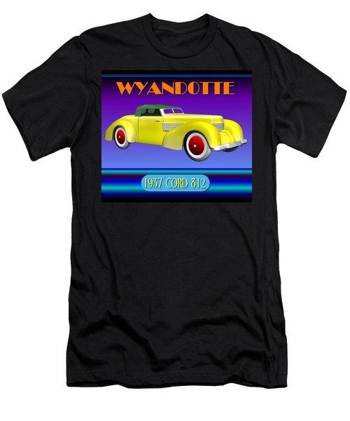 Wyandotte 1937 Cord 812 Men's T-Shirt (Slim Fit) by Stuart Swartz