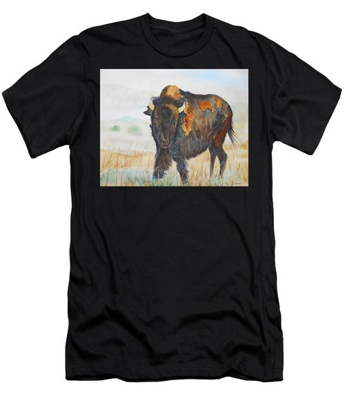 Wyoming - King Of The Prairie Men's T-Shirt (Athletic Fit)