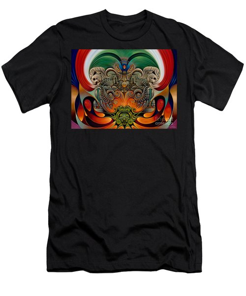 Xiuhcoatl The Fire Serpent Men's T-Shirt (Athletic Fit)