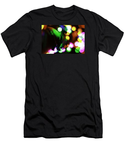 Xmas Lite Men's T-Shirt (Slim Fit) by Michael Nowotny