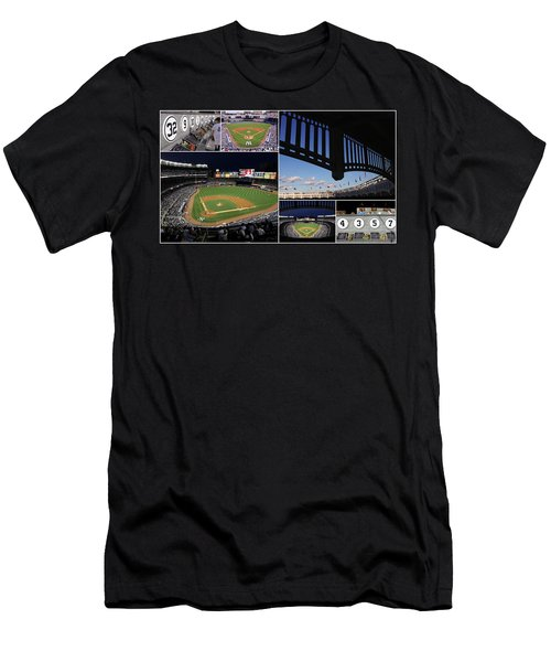 Yankee Stadium Collage Men's T-Shirt (Athletic Fit)