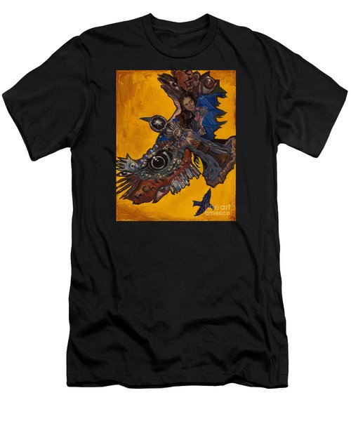 Yellow Crow Men's T-Shirt (Slim Fit) by Emily McLaughlin