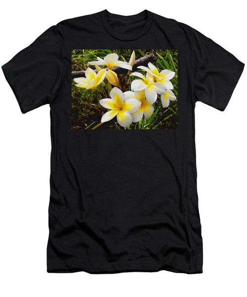 Yellow Flowers 1 Men's T-Shirt (Athletic Fit)
