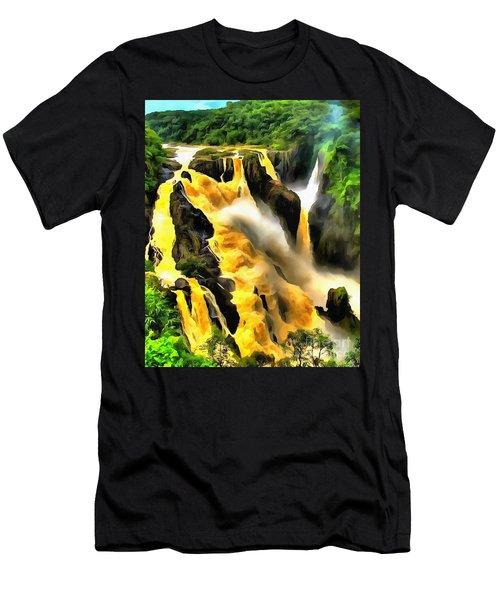 Yellow River Men's T-Shirt (Athletic Fit)