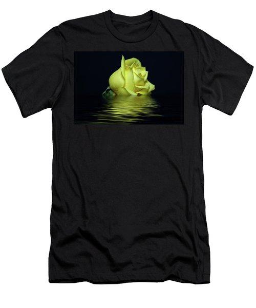 Yellow Rose II Men's T-Shirt (Slim Fit) by Sandy Keeton