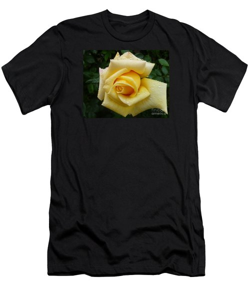 Yellow Rose Say Goodbye Men's T-Shirt (Athletic Fit)