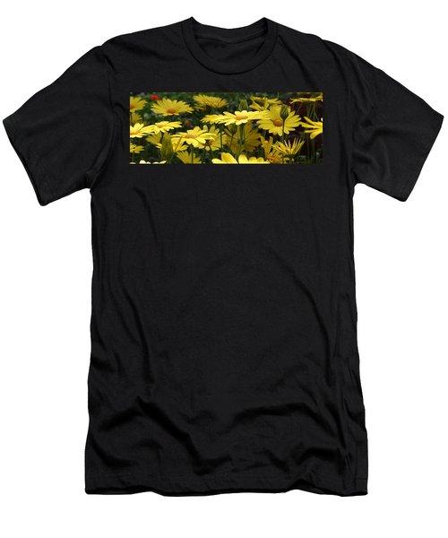 Yellow Splendor Men's T-Shirt (Slim Fit) by Bruce Bley