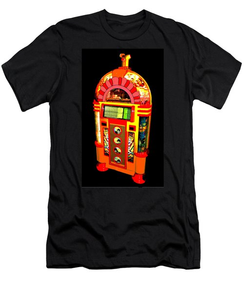 Men's T-Shirt (Slim Fit) featuring the photograph Yellow Submarine Poster by Jean Goodwin Brooks