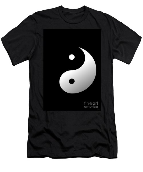 Yin And Yang Men's T-Shirt (Athletic Fit)