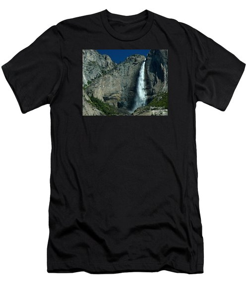 Men's T-Shirt (Slim Fit) featuring the photograph Yosemite Falls by Nick  Boren