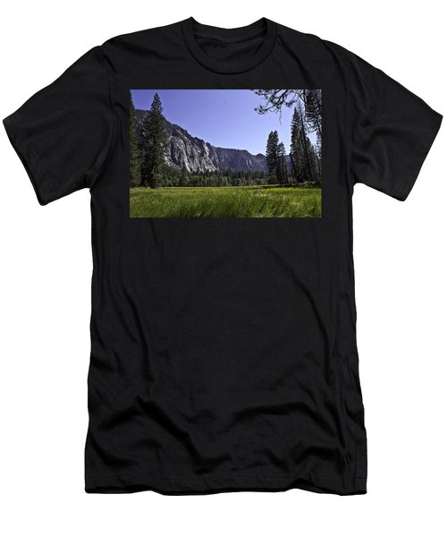 Yosemite Meadow Men's T-Shirt (Slim Fit) by Brian Williamson