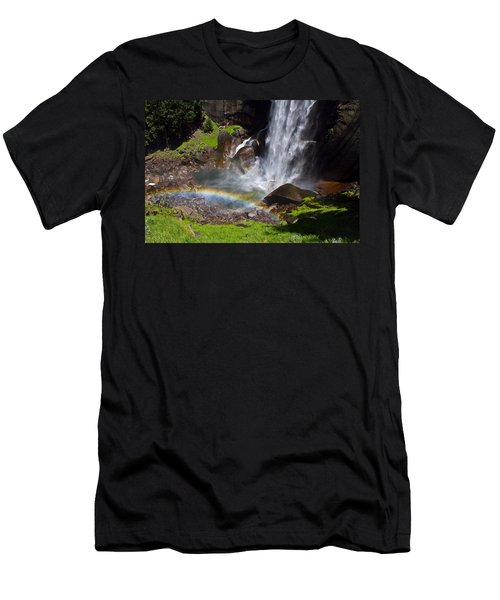 Yosemite National Park Men's T-Shirt (Slim Fit) by Brian Williamson