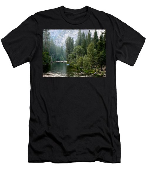 Men's T-Shirt (Slim Fit) featuring the photograph Yosemite National Park by Laurel Powell
