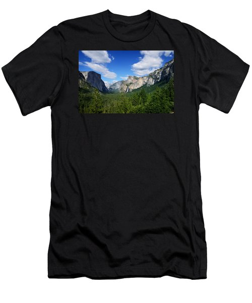 Yosemite National Park Men's T-Shirt (Athletic Fit)