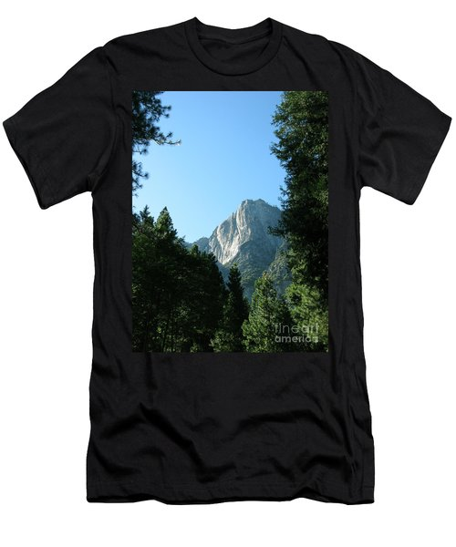 Yosemite Park Men's T-Shirt (Slim Fit) by Mini Arora