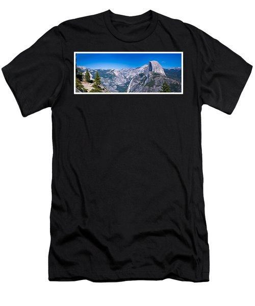 Yosemite Valley From Glacier Point Men's T-Shirt (Athletic Fit)
