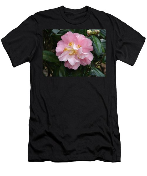 Men's T-Shirt (Slim Fit) featuring the photograph You Make Me Blush by Lew Davis