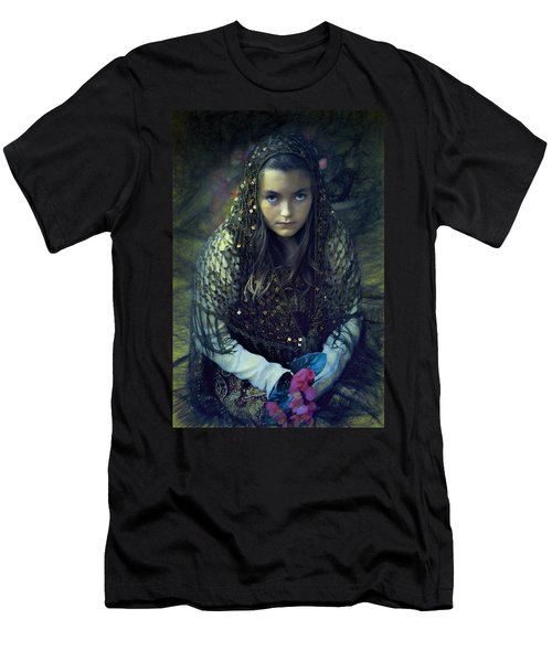 Young Maiden Men's T-Shirt (Slim Fit) by John Rivera