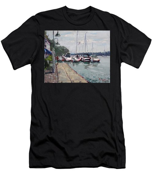 Youngstown Yachts Men's T-Shirt (Athletic Fit)