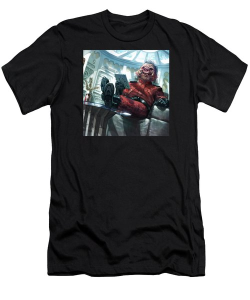 Yoxgit Men's T-Shirt (Athletic Fit)
