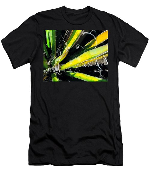 Yucca Spirals Men's T-Shirt (Athletic Fit)