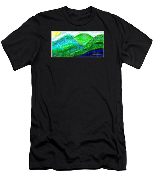 Van Gogh Sunrise Men's T-Shirt (Athletic Fit)