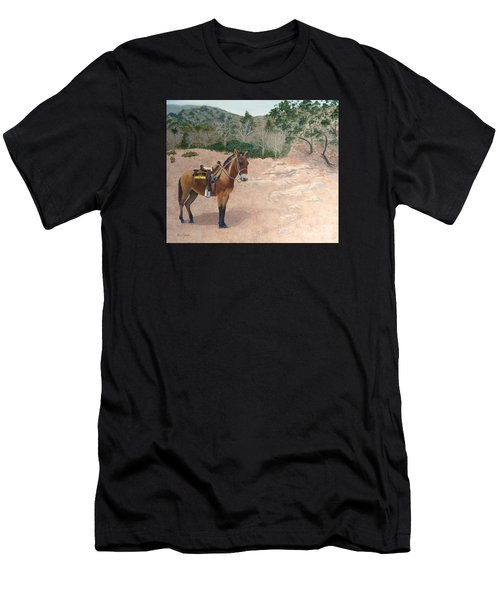 Zachary The Mule Men's T-Shirt (Athletic Fit)
