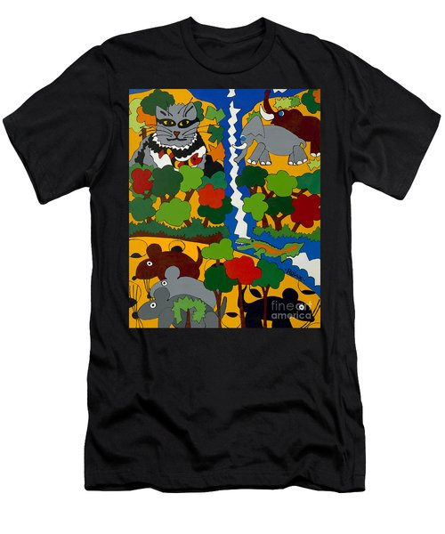Zane Grey In Africa Men's T-Shirt (Athletic Fit)