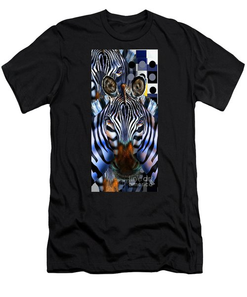 Zebra Dreams Men's T-Shirt (Athletic Fit)