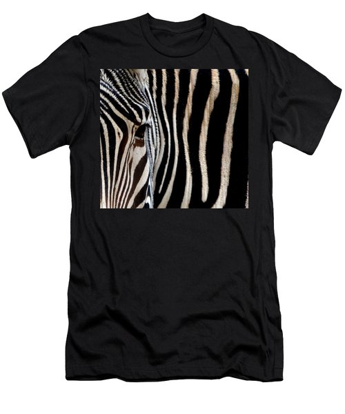 Zebras Face To Face Men's T-Shirt (Athletic Fit)