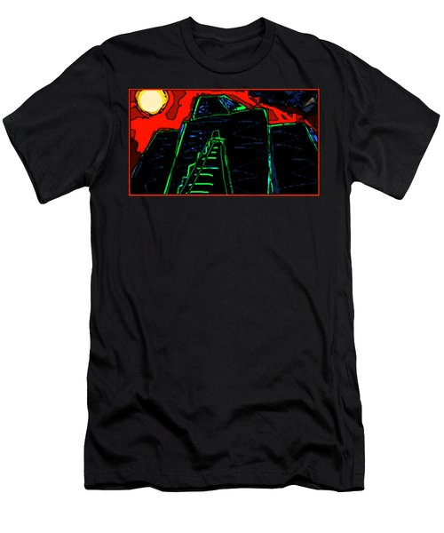 Ziggurat Nites Men's T-Shirt (Athletic Fit)