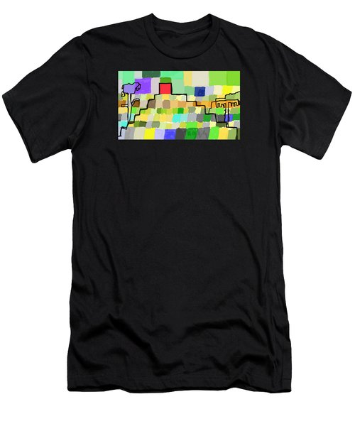 Ziggurat Men's T-Shirt (Athletic Fit)