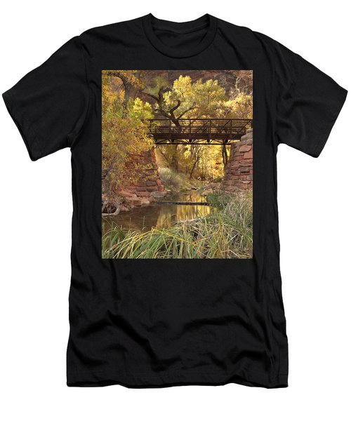 Zion Bridge Men's T-Shirt (Athletic Fit)