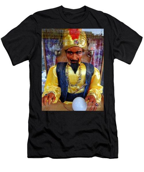 Men's T-Shirt (Slim Fit) featuring the photograph Zoltar by Ed Weidman