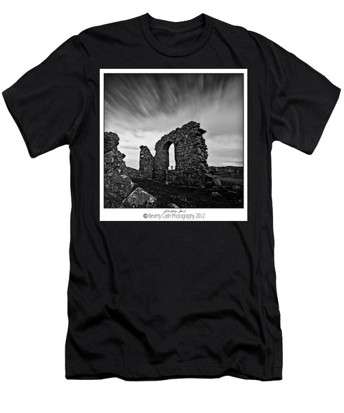 Llanddwyn Island Ruins Men's T-Shirt (Athletic Fit)