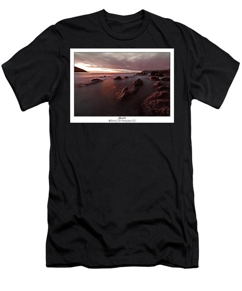 Manorbier Dusk Men's T-Shirt (Athletic Fit)
