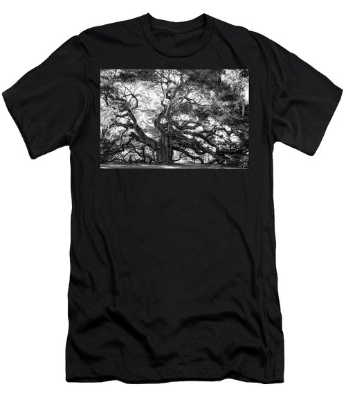 Men's T-Shirt (Slim Fit) featuring the photograph Angel Oak by Lynne Jenkins
