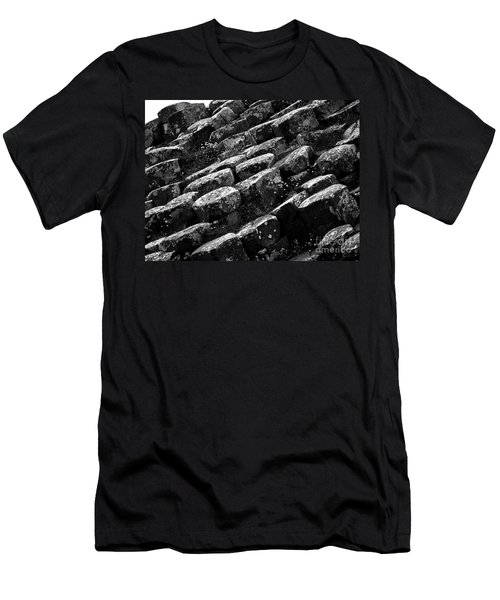 Another View Of The Giants Causeway Men's T-Shirt (Athletic Fit)
