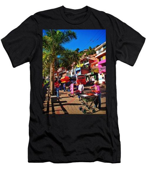 Candy Man Men's T-Shirt (Athletic Fit)