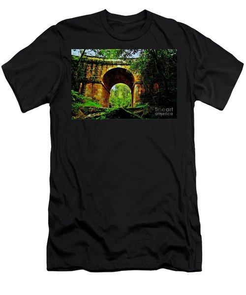Colonial Era Bridge Men's T-Shirt (Athletic Fit)