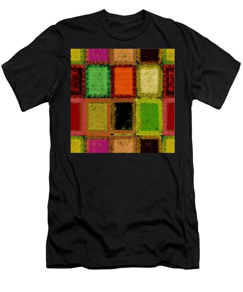 Men's T-Shirt (Athletic Fit) featuring the digital art Color Palette by Mihaela Stancu