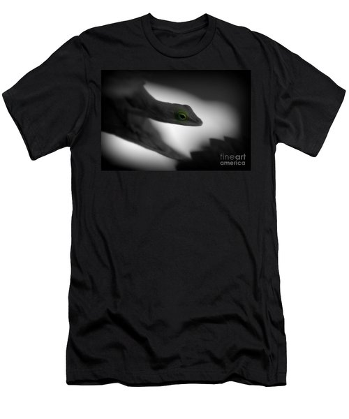 Men's T-Shirt (Athletic Fit) featuring the photograph Green With Envy by Donna Bentley