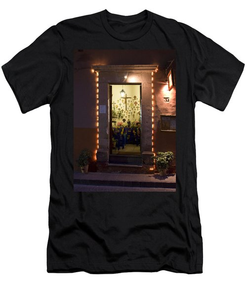 Men's T-Shirt (Slim Fit) featuring the photograph Las Cruces by Lynn Palmer