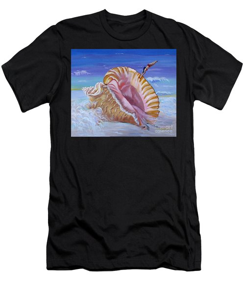 Magic Conch Shell Men's T-Shirt (Athletic Fit)